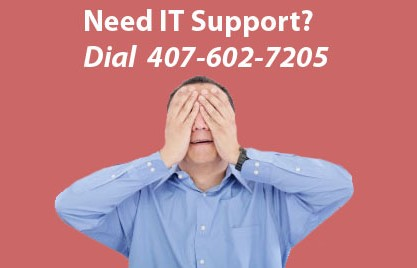 Need IT Support? Dial 407-602-7205